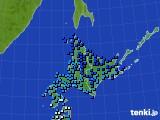 北海道地方のアメダス実況(気温)(2020年03月03日)