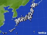 2020年03月03日のアメダス(風向・風速)