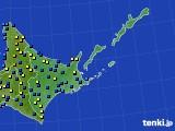道東のアメダス実況(積雪深)(2020年03月04日)
