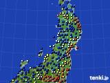 2020年03月05日の東北地方のアメダス(日照時間)