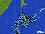 北海道地方のアメダス実況(気温)(2020年03月05日)