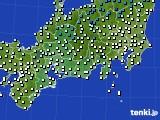 2020年03月06日の東海地方のアメダス(気温)