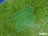 群馬県のアメダス実況(降水量)(2020年03月10日)