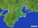 三重県のアメダス実況(降水量)(2020年03月10日)