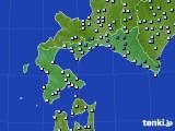 道南のアメダス実況(降水量)(2020年03月10日)