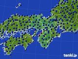 近畿地方のアメダス実況(日照時間)(2020年03月10日)