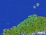 島根県のアメダス実況(日照時間)(2020年03月11日)