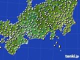 東海地方のアメダス実況(気温)(2020年03月11日)