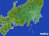 関東・甲信地方のアメダス実況(降水量)(2020年03月16日)
