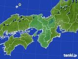 2020年03月16日の近畿地方のアメダス(積雪深)