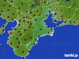 三重県のアメダス実況(日照時間)(2020年03月20日)
