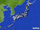 アメダス実況(風向・風速)(2020年03月20日)