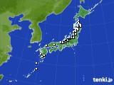 アメダス実況(降水量)(2020年03月22日)