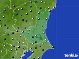 茨城県のアメダス実況(風向・風速)(2020年03月22日)