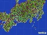 東海地方のアメダス実況(日照時間)(2020年03月23日)