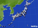 2020年03月24日のアメダス(風向・風速)