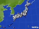 2020年03月26日のアメダス(風向・風速)