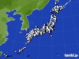 2020年03月28日のアメダス(風向・風速)