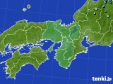 近畿地方のアメダス実況(積雪深)(2020年03月29日)