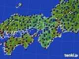 近畿地方のアメダス実況(日照時間)(2020年03月29日)