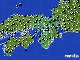 近畿地方のアメダス実況(風向・風速)(2020年03月29日)