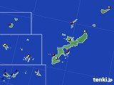 2020年04月05日の沖縄県のアメダス(日照時間)