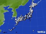 2020年04月05日のアメダス(風向・風速)