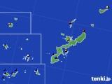 2020年04月06日の沖縄県のアメダス(日照時間)