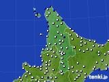 2020年04月09日の道北のアメダス(風向・風速)