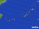 2020年04月13日の沖縄地方のアメダス(風向・風速)