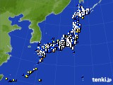 2020年04月13日のアメダス(風向・風速)