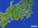 関東・甲信地方のアメダス実況(降水量)(2020年04月18日)