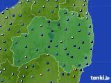 福島県のアメダス実況(降水量)(2020年04月18日)