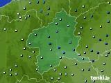 群馬県のアメダス実況(降水量)(2020年04月18日)