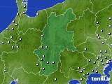 長野県のアメダス実況(降水量)(2020年04月20日)