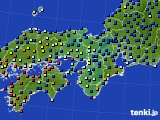 近畿地方のアメダス実況(日照時間)(2020年04月20日)