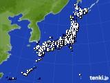 アメダス実況(風向・風速)(2020年04月20日)