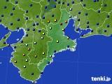 三重県のアメダス実況(日照時間)(2020年04月21日)