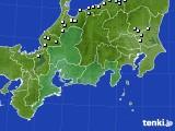 東海地方のアメダス実況(降水量)(2020年04月22日)