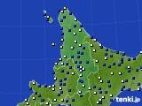 2020年04月22日の道北のアメダス(風向・風速)