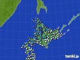 アメダス実況(気温)(2020年04月23日)