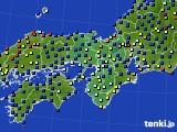 近畿地方のアメダス実況(日照時間)(2020年04月26日)