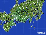 東海地方のアメダス実況(風向・風速)(2020年04月26日)