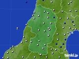山形県のアメダス実況(風向・風速)(2020年04月26日)