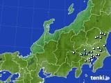 北陸地方のアメダス実況(降水量)(2020年04月27日)