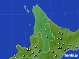 道北のアメダス実況(降水量)(2020年04月27日)