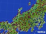 北陸地方のアメダス実況(日照時間)(2020年04月27日)