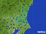 茨城県のアメダス実況(日照時間)(2020年04月27日)