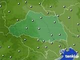 埼玉県のアメダス実況(気温)(2020年04月27日)