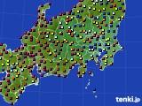 関東・甲信地方のアメダス実況(日照時間)(2020年04月28日)